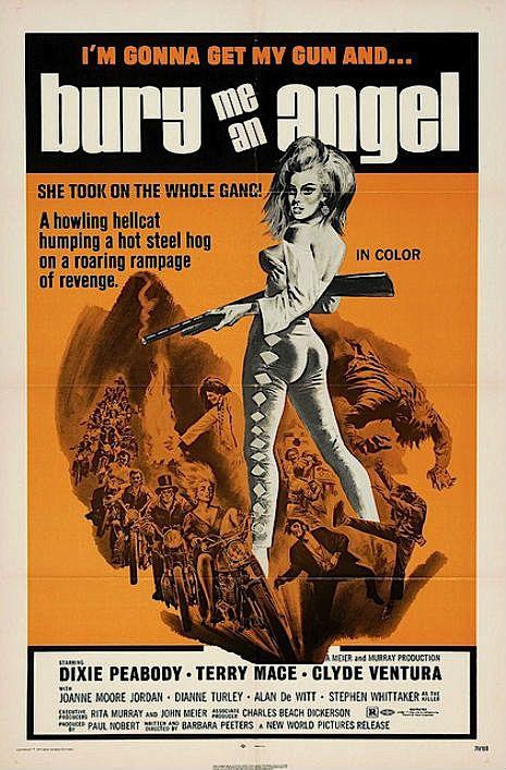 Bury Me an Angel - Hell on Wheels: Vintage outlaw biker movie posters