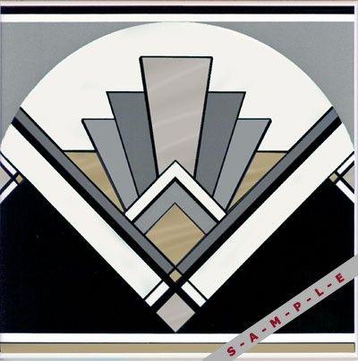 ART DECO TILE   Art Deco Tile ( Original Style Glass , Falcon Road, USA)