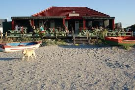 Voorstrandt Restaurant - Paternoster  On the beach, need I say more..