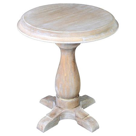 Joss and Main Pedestal Accent Table