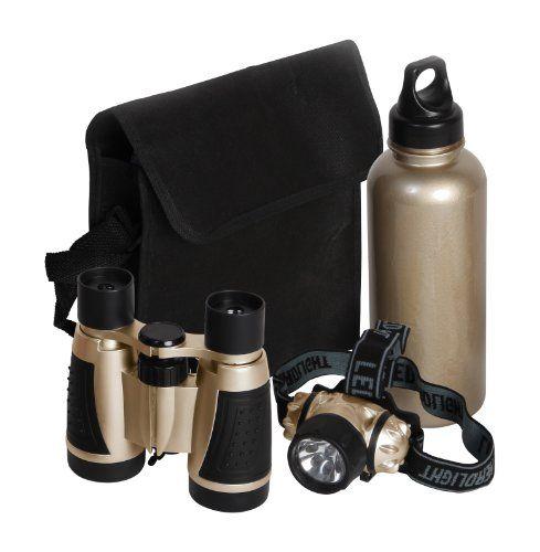 Bresser Junior - Kit de explorador con prismático