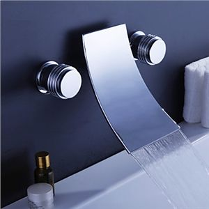 Waterfall Widespread Contemporary Bathtub Faucet (Chrome Finish) - See more at: http://www.homelava.com/en-waterfall-widespread-contemporary-bathtub-faucet-chrome-finish-nbsp-p19208.htm#sthash.2XcXs4LD.dpuf