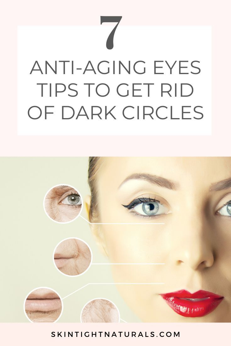 10 Anti-Aging Tips for Your Eyes - Skin Tight Naturals  Anti aging