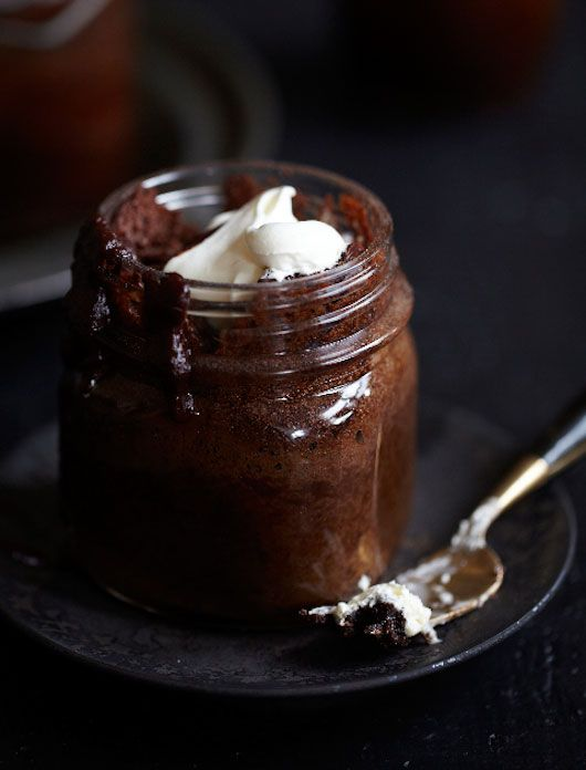 Rum and Chocolate Cake in a jar- Sweet Paul for SF Girl by Bay