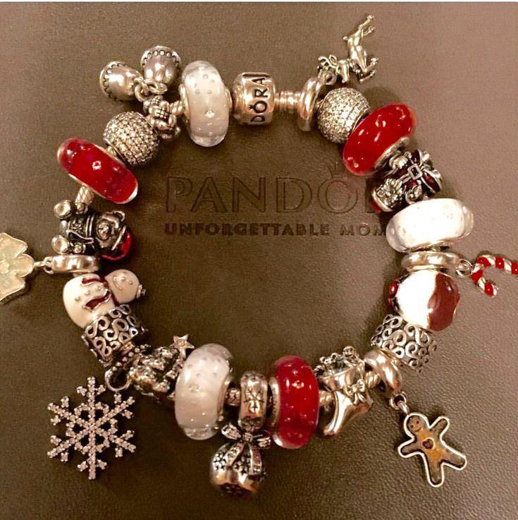Pandora Christmas themed bracelet                                                                                                                                                                                 More