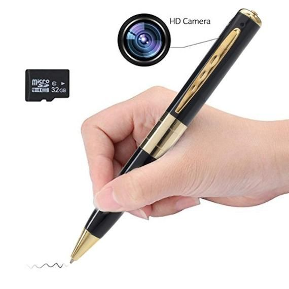 Liger Mini Spy Video Camera DVR Pen w/ Free 8GB Memory Card