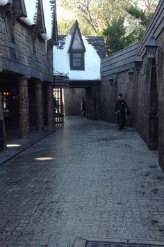 Hidden areas in Wizarding world of HP