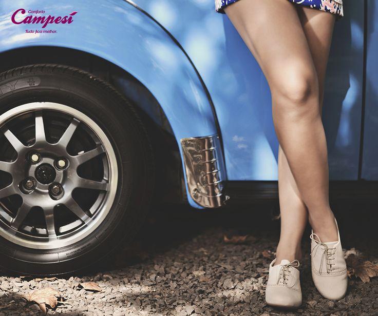 Aposte na flexibilidade de um oxford Campesí. Ele é macio e combina com muitos looks: dos shortinhos e saias casuais até calças sociais. É um curinga!