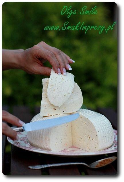 Mój domowy ser koryciński - przepis   Kulinarne przepisy Olgi Smile
