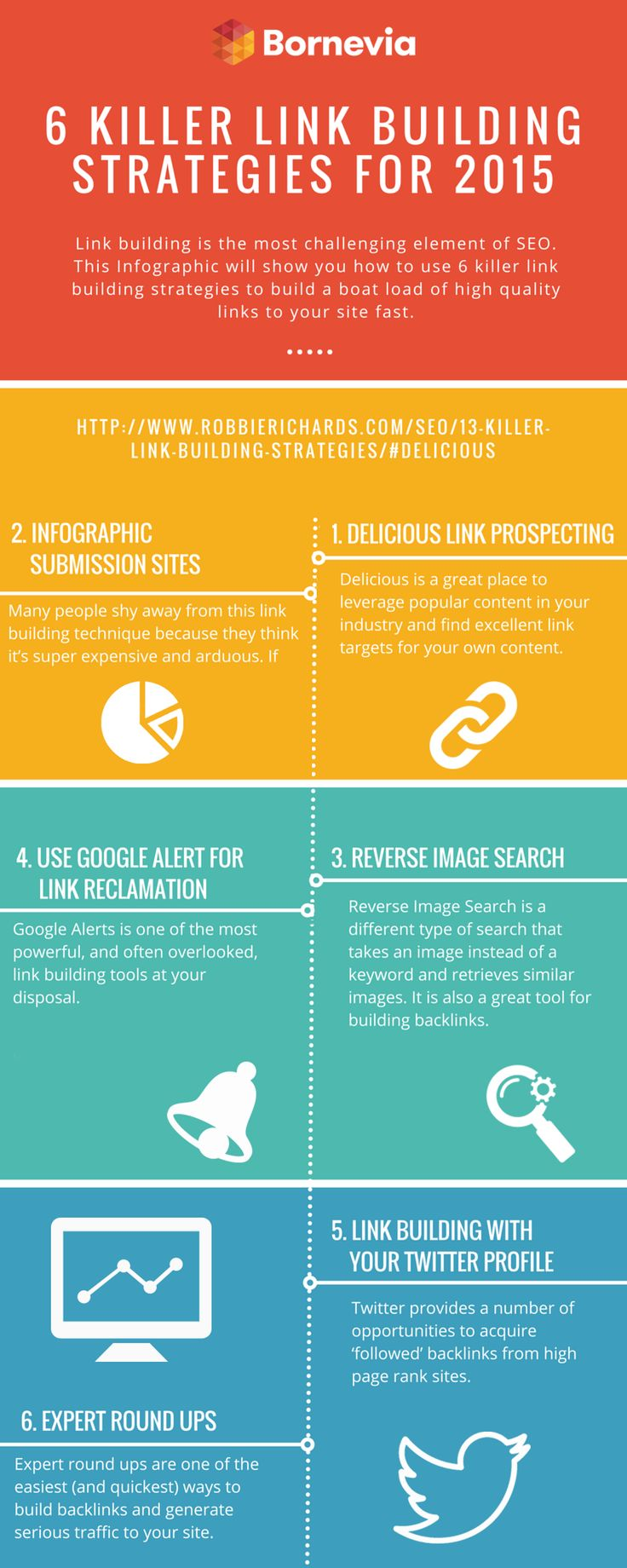 Build your link with these 6 killer strategies #strategy #building #infographics