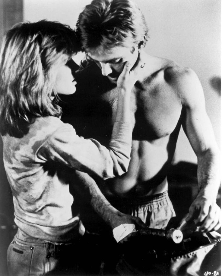 Kyle Reese & Sarah Connor - Terminator. My all-time favorite movie couple.