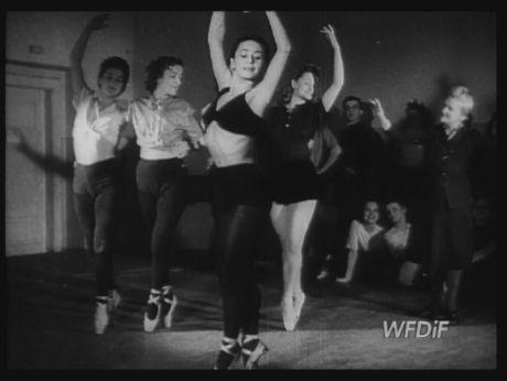 Polish dance school in Poznan [video] |Repozytorium Cyfrowe Filmoteki Narodowej #dance, #ballet