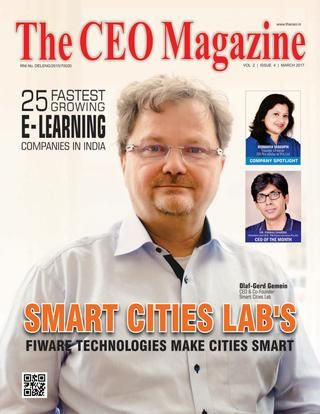 The ceo magazine, e learning issue, march 2017  The CEO Magazine, is the India`s leading monthly magazine published from New Delhi, India. It is the excellent medium that allows the top level executives to share their experiences, challenges they faced and case studies. That creates the extraordinary benefits to the Startups community and vibrant entrepreneurs to analyze on the IT trends; learning's to organize and gives the better understanding in achieving their business objectives…