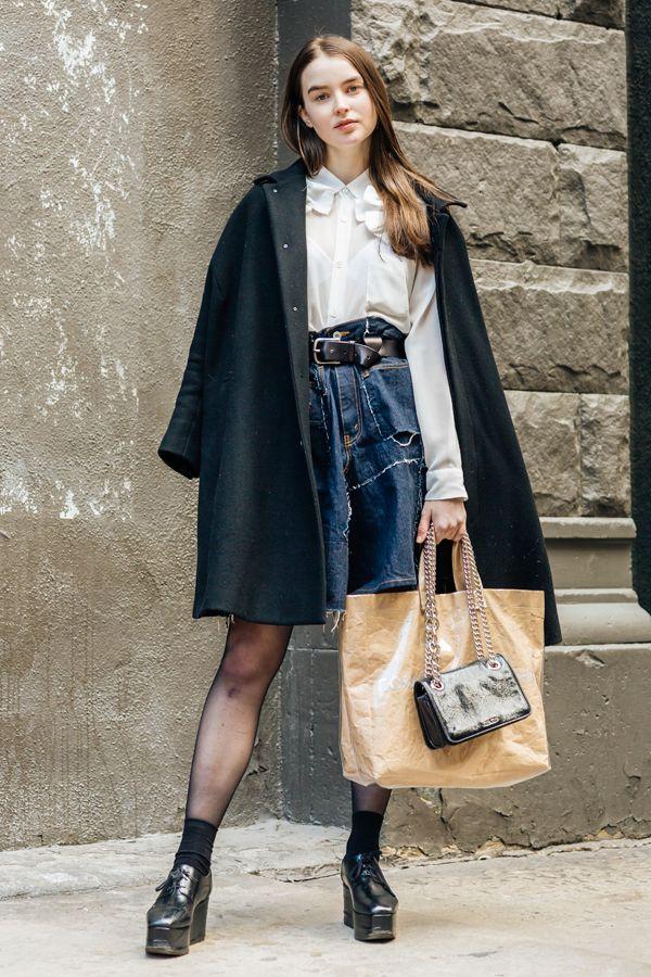 NYのモデルたちが着こなす春のストリートスタイル