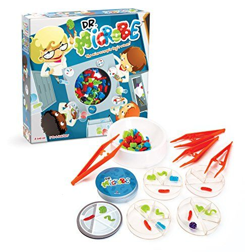 Dr Microbe Science Speed Logic Board Game Prime Day