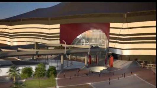 Al Bayt Stadium per i Mondiali di calcio del 2022 in Qatar   visita virtuale con questo video & info sulla sua #progettazione e realizzazione qui: goo.gl/tqEvYy