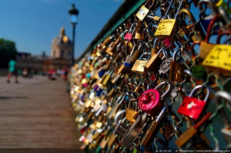 cadenas pont des arts