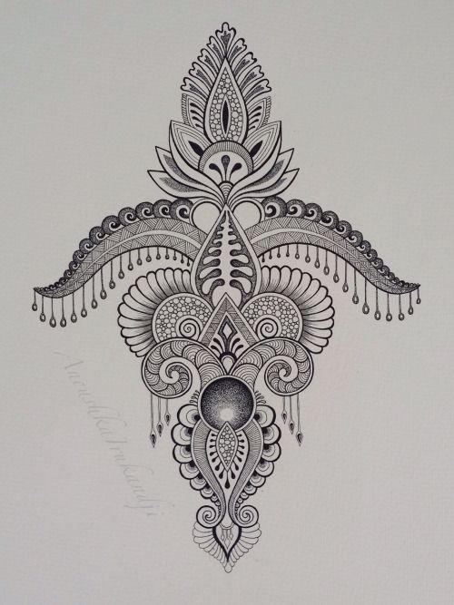 Mehndi Nape Tattoo : Best images about art with henna on pinterest