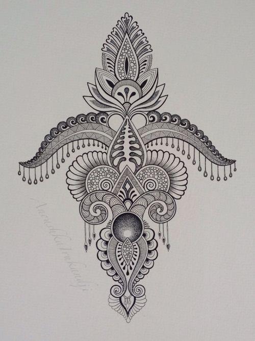 One of my recent drawings (Anoushka Irukandji/2015)  www.irukandjidesigns.bigcartel.com