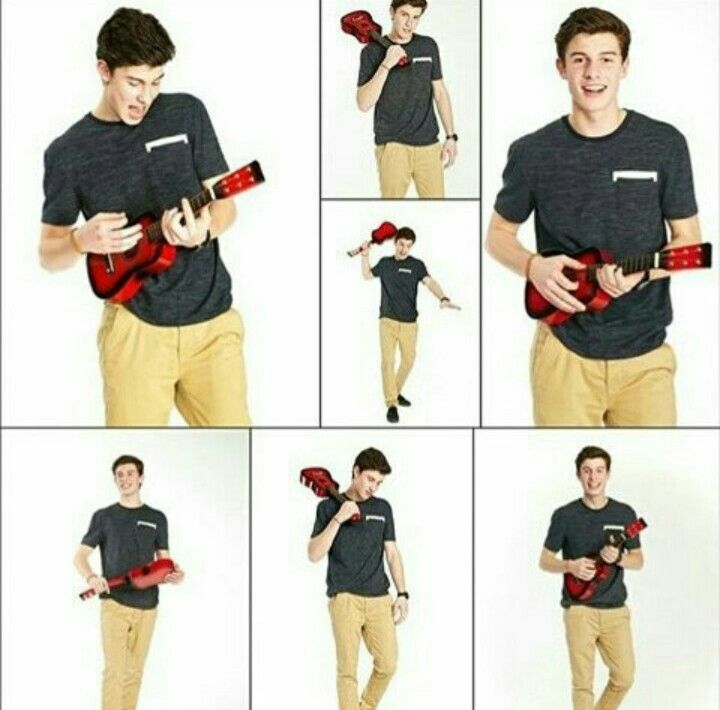 Any type of guitar, he plays