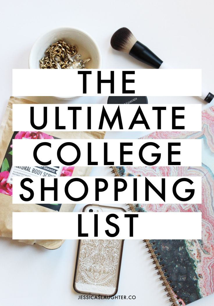 When I left for college my freshman year, I felt pretty clueless about what I would actually need on campus. I forgot about so many things that I made a list for myself with every single item I used throughout the year, and I wanted to share it with y'all! Of course, depending on your …