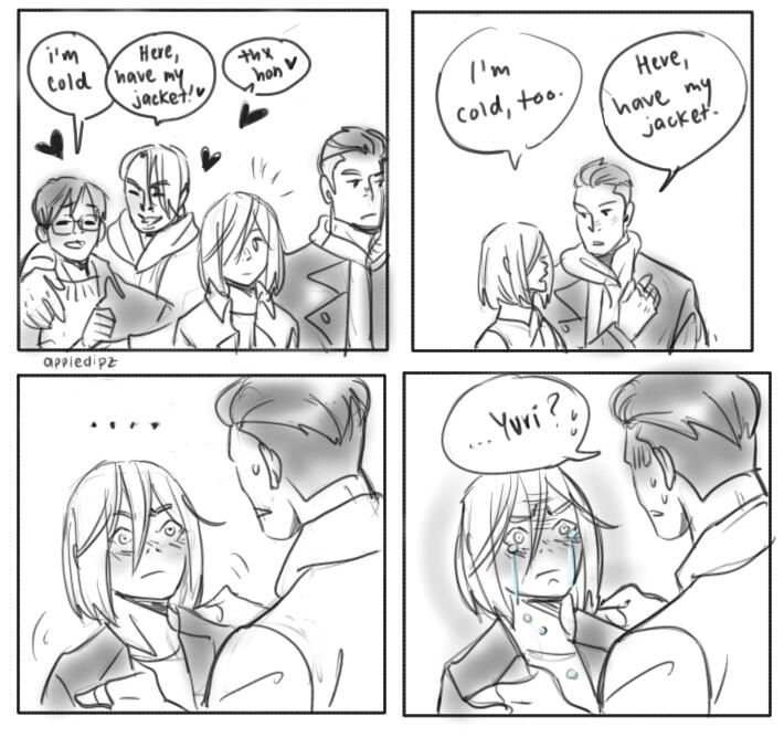 Yuri on Ice- all credits to go to the creator/owner