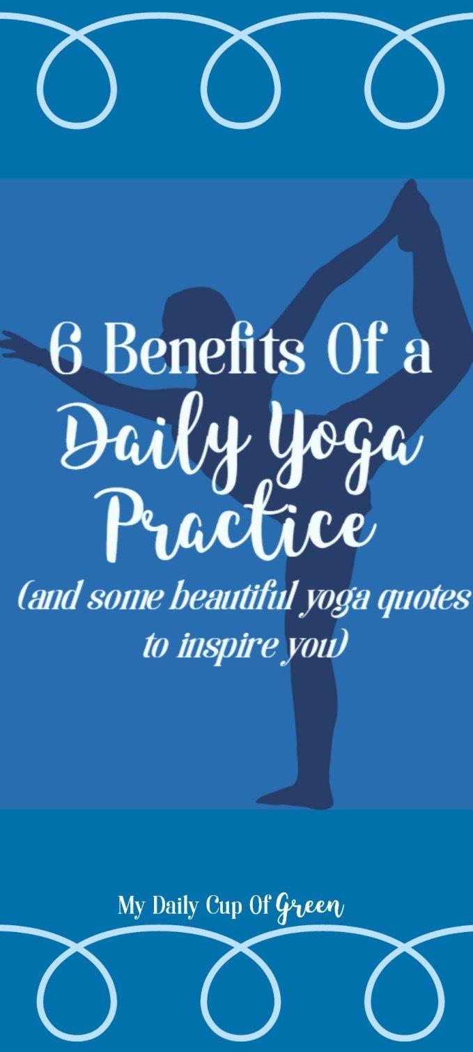 Yoga benefits daily practice