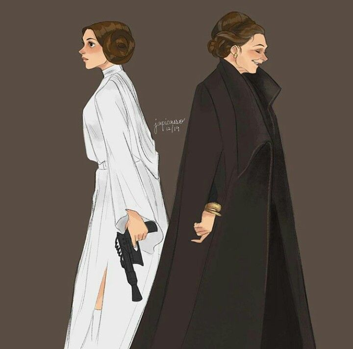 Princess, General, both the biggest heroes and role models