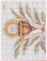 pierwsza komunia święta haft krzyżykowy - Szukaj w Google