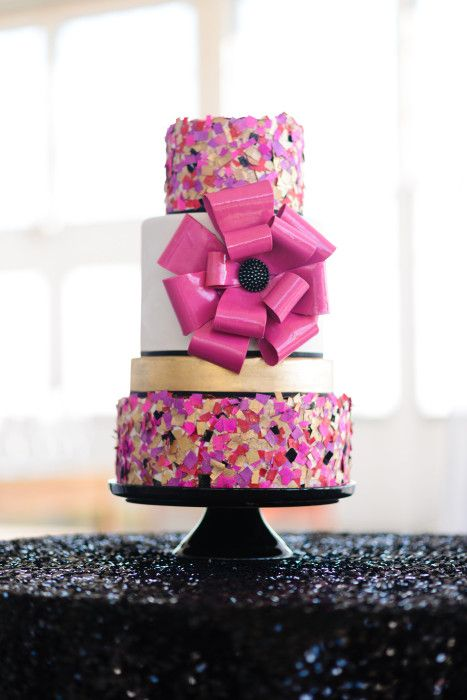 Edible Confetti Cake | Erica O'Brien Cake Design | Hamden, CT