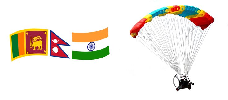 Paramotoring and Aerochute Powered Parachute flying training and equipment sales in India, Nepal and Sri Lanka