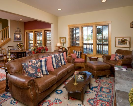 But Even The Best Leather May Fade And Lose Color When Used For A Long  Time. Living Room ...
