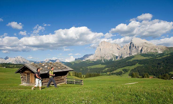 Unendliche Schönheit eröffnet sich, während einer Wanderung im Vinschgau.