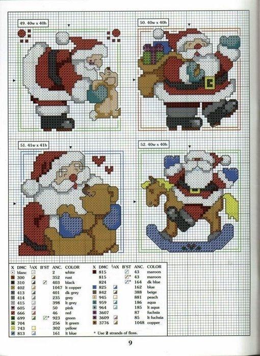 Santas 1-4