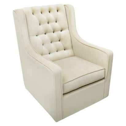 Target baby nursery nursery furniture gliders & ottomans    $579.99  Rockabye Glider Co. Bella Velvet Grande Glider Chair - Buckwheat