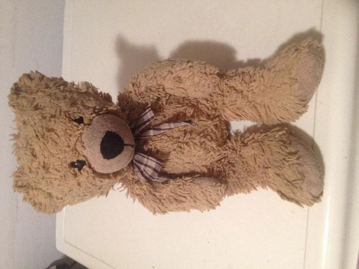 Found on 15 Aug. 2016 @ cheltenham. This well worn and loved teddy was found in…