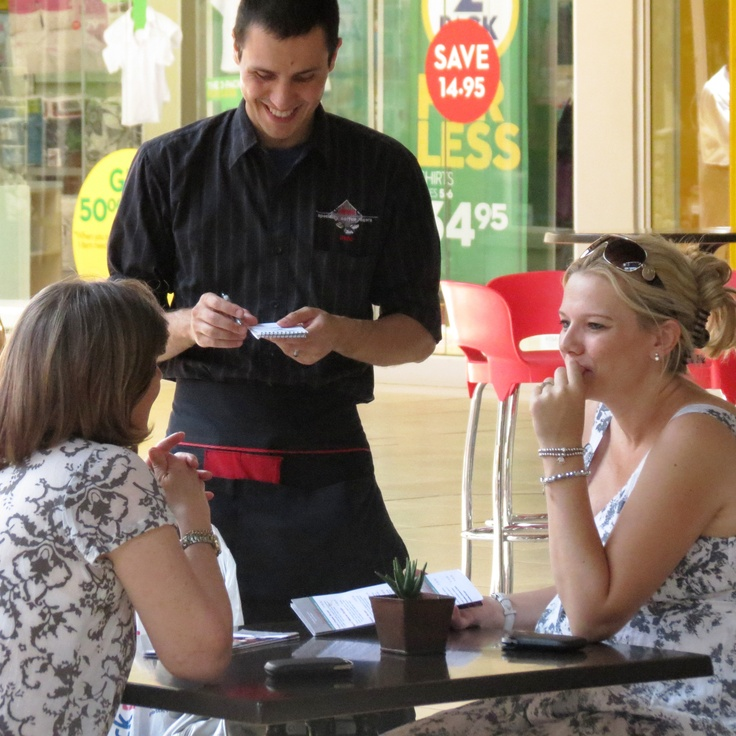 Let our friendly waiters, amazing meals and wonderful coffee brighten up your day :)