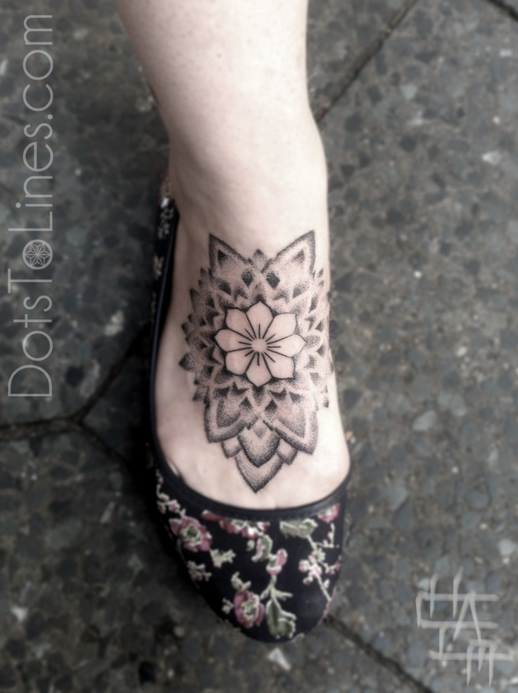 Lines And Dots Tattoo: Dots To Lines Tattoos
