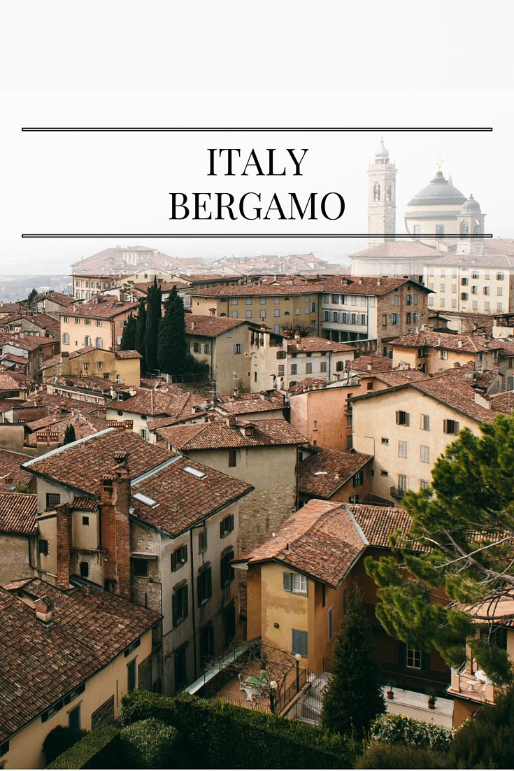 Have you ever been to Bergamo in Italy? See what to do and where to go in this Historical city in the province Lombardy!