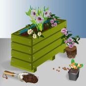 Construire une jardinière en bois