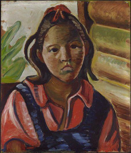 Prudence Heward. Jeune indienne 1936. Musée des beaux-arts de Montréal