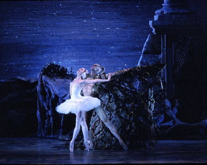 You never forget the first ballet you saw. 7 years old, Swan Lake, ABT with Paloma Herrera and Angel Corella.