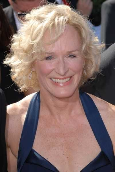 Glenn Close Is Showing Off A Above The Line Short Blonde