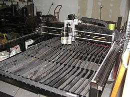 CNC Router and Plasma Table - Homemade CNC router and plasma table designed to provide full capabilities in either setup.