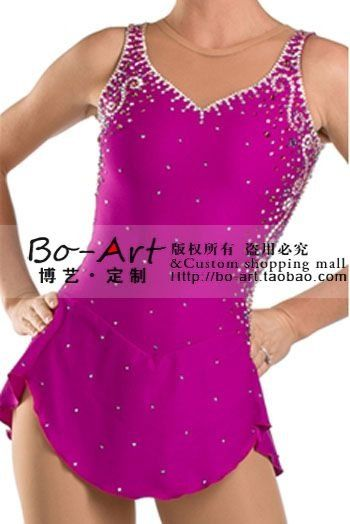 BOART hot sales Ice Skating Dress Beautiful Figure New Brand Ice Dress Competition customize A2055 US $115.00