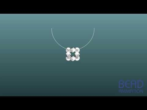 ▶ Beadanimation Beading Class _ How to mke a Earring_12 hole Luxury Earring.mov - YouTube