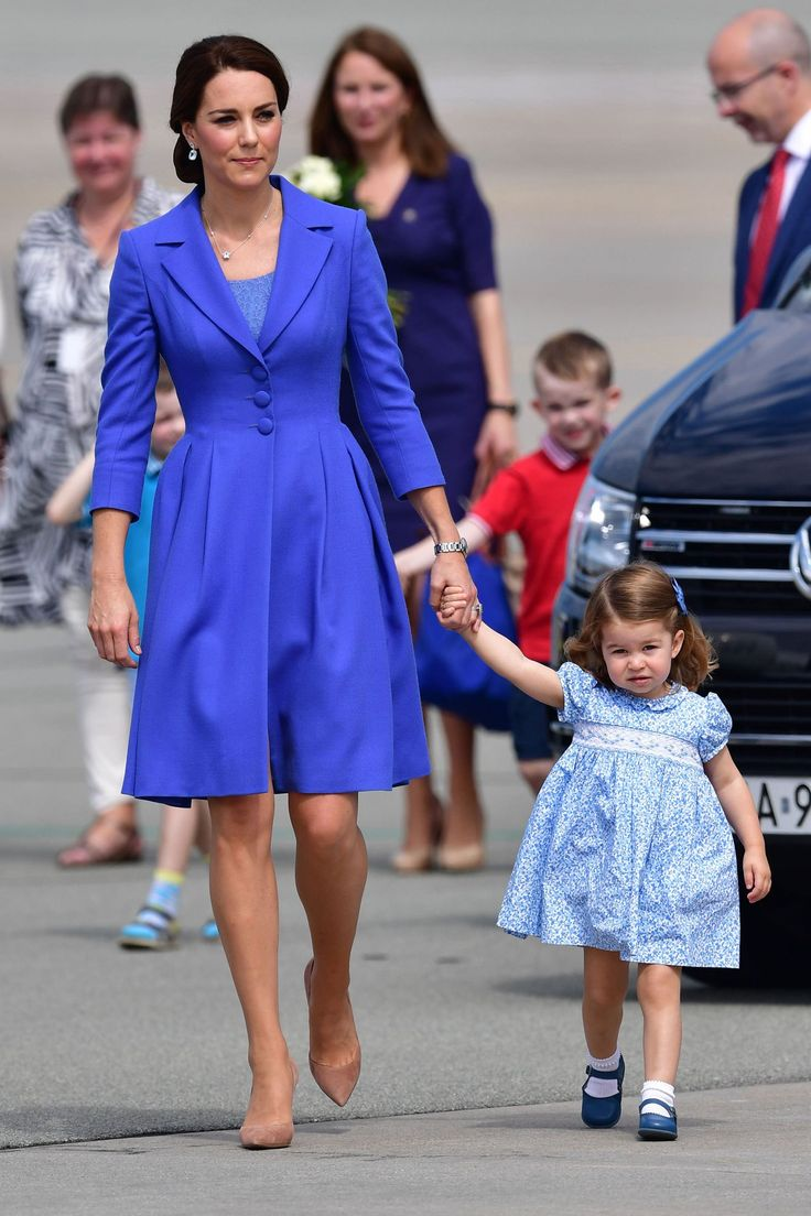 The royal family has arrived in Germany for the second half of their five-day tour