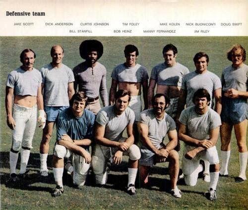 1972 Miami Dolphins No-Name Defense