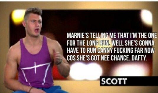 Scott geordie shore quotes