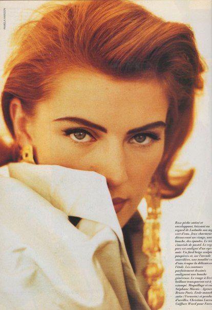 Ludmila Isaeva-Malahova by Pamela Hanson for Vogue Paris, September 1991